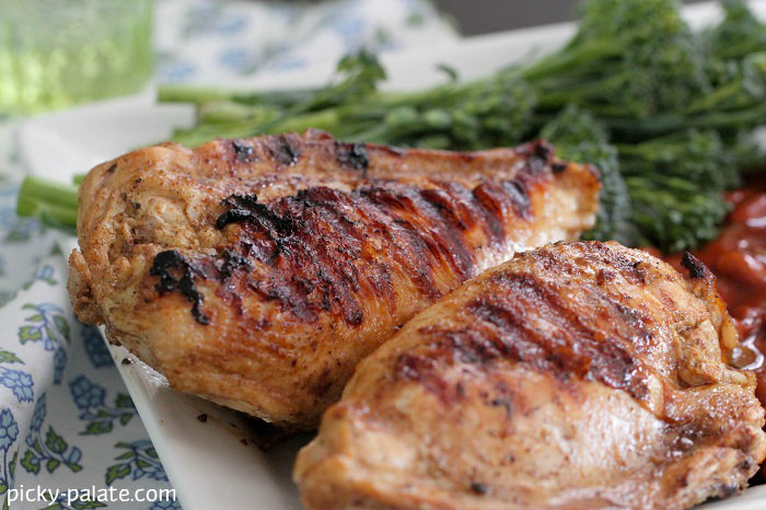 Cumin, Lime and Garlic Grilled Chicken Recipe