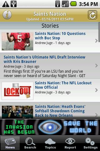 Saints Nation - screenshot