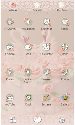 Cute Wallpaper Swan Cake 1.0.1 Windows u7528 2