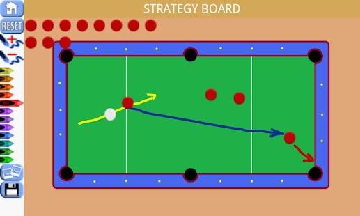 Billiard Clipboard Scoreboard
