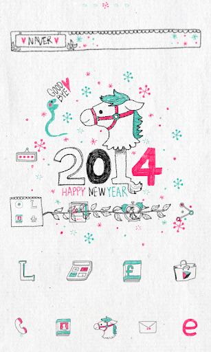 New 2014 dodol launcher theme