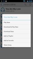 Screenshot of New songs - Melody