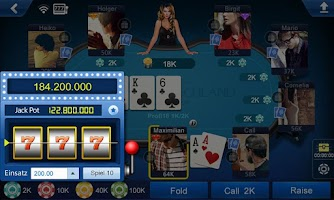 Screenshot of Poker Deutschland HD