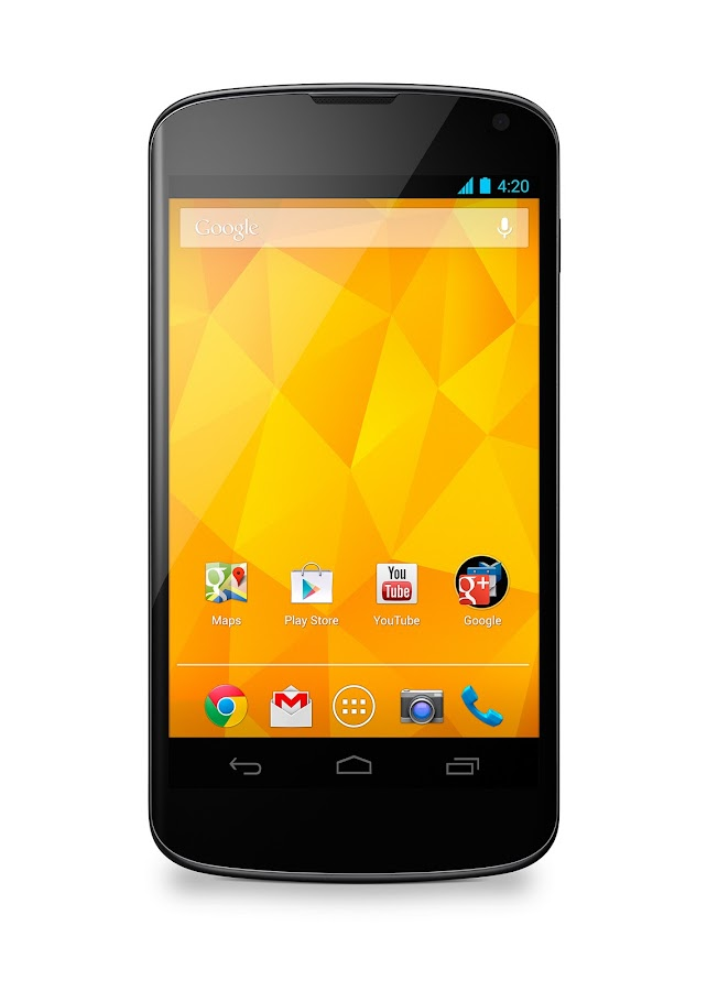 Nexus 4 with Bumper (White, 16GB) - screenshot