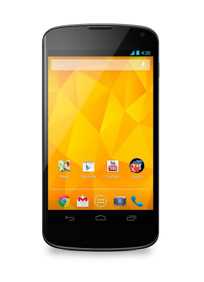 Nexus 4 with Bumper (White, 8GB) - screenshot