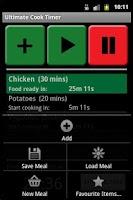 Screenshot of Ultimate Cook Timer