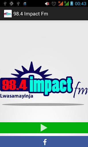 98.4 Impact Fm
