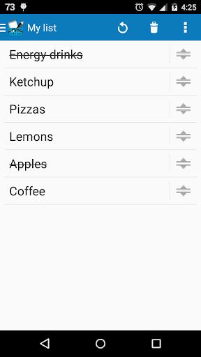 ShopPocket: shopping list