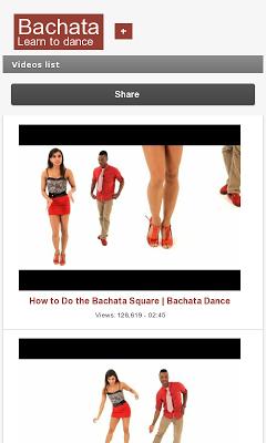 Bachata Dance - screenshot