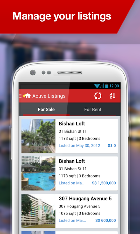 AgentNet Singapore- screenshot