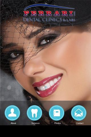 Ferrari Dental Clinics App- screenshot
