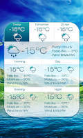 Screenshot of Beautiful Seasons Weather HD
