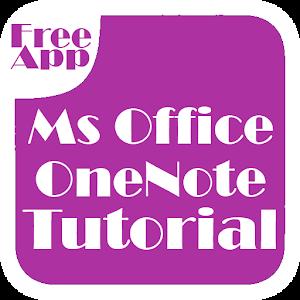 Office OneNote Tutorial 程式庫與試用程式 App LOGO-APP試玩