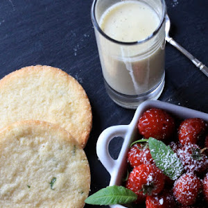 Verbena Shortbread to accompany Strawberry/Raspberry Wood
