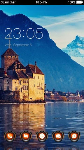 Mountain and Castle Theme