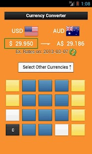 Currency Converter Calculator - screenshot thumbnail