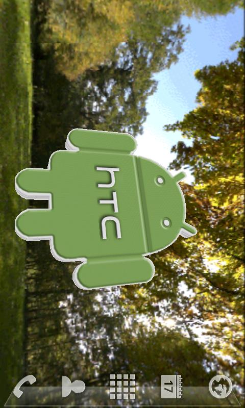 HTC Live Wallpaper 3D - screenshot