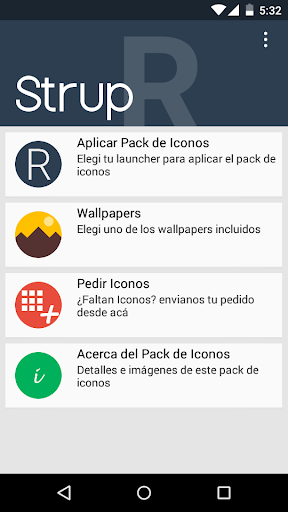 Strup R - Icon Pack