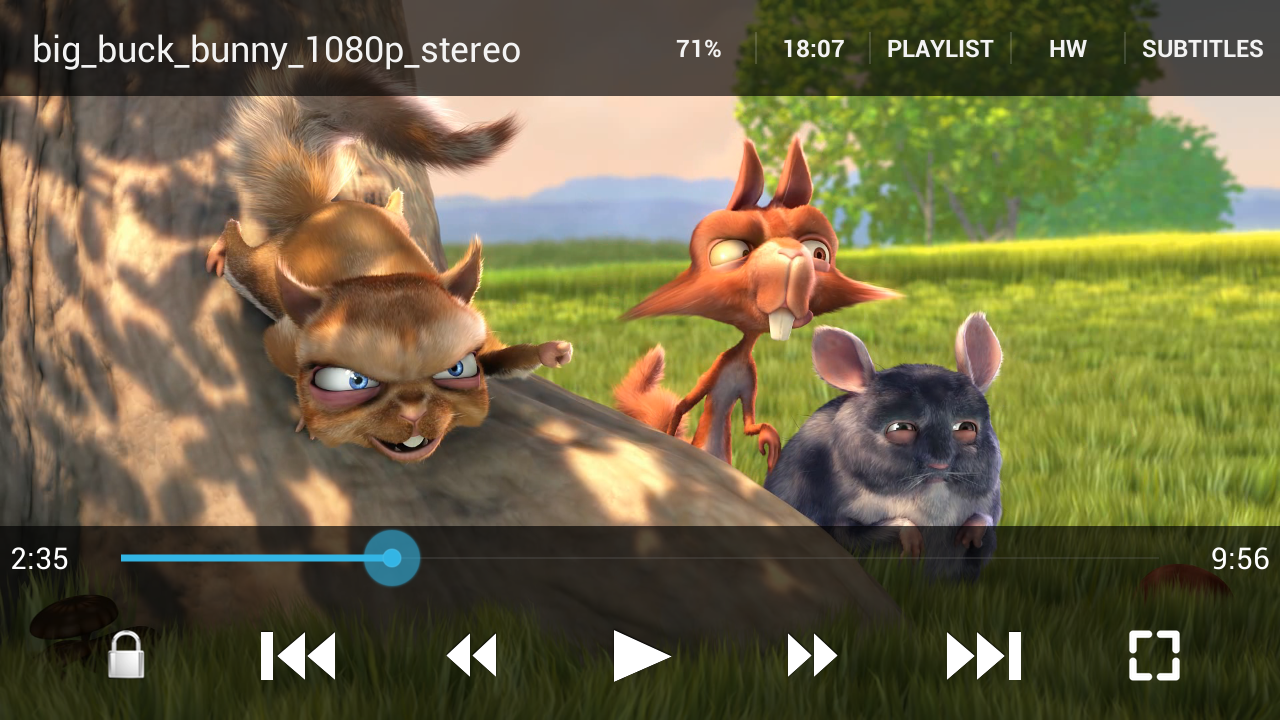 GoodPlayer Pro for Android - screenshot