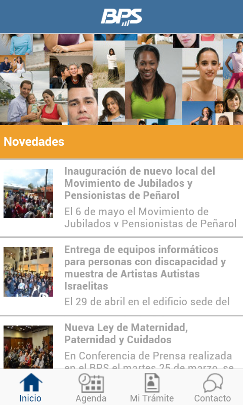 BPS Movil- screenshot