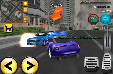 Crime City Real Police Driver APK screenshot thumbnail 1