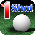 One Shot Putting Golf logo