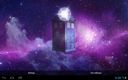 doctor who live wallpaper  TARDIS 3D Live Wallpaper - Apps on Google Play