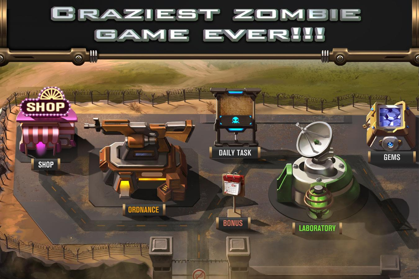 Zombie Storm- screenshot
