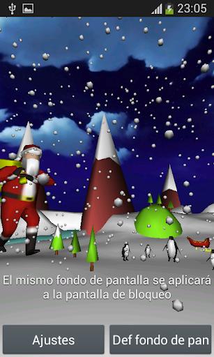 Navidad 3D Live Wallpaper