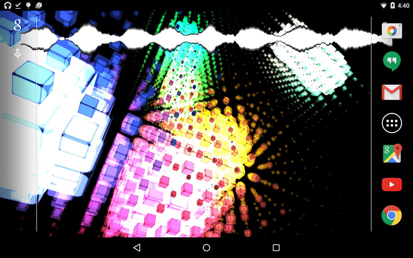 Cubic Patterns LWP Lite- screenshot