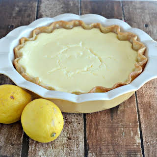 Lemon Cheesecake Pie for Pi Day.