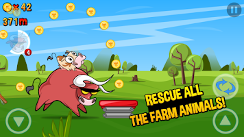 Screenshot of Run Cow Run