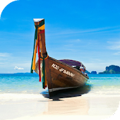 Thai boats live wallpaper
