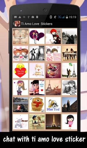 Ti amo Love Stickers