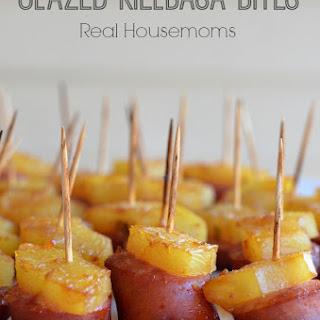 Glazed Kielbasa Bites.