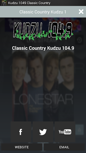 【免費音樂App】Kudzu 1049 Classic Country-APP點子