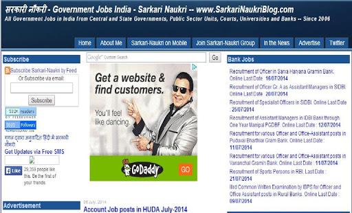 Free sarkari naukri Govt Job APK