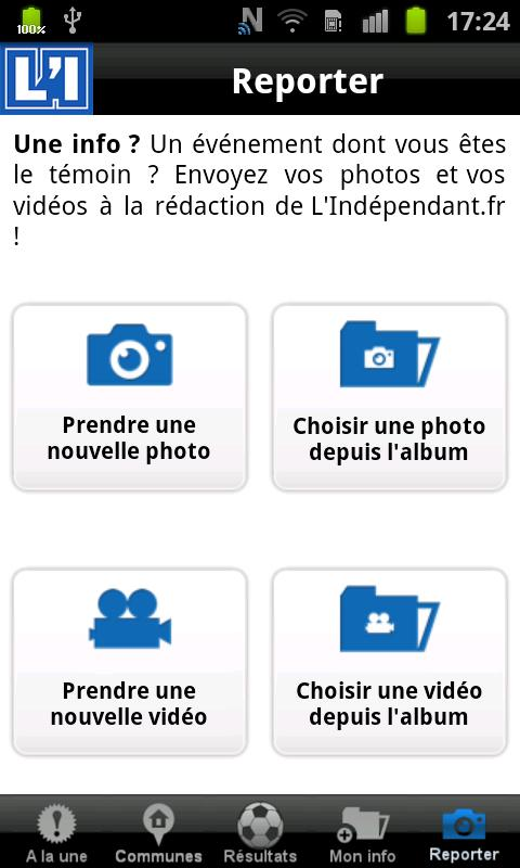 L'Indépendant - screenshot