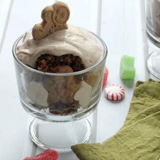 Healthier Gingerbread Trifles