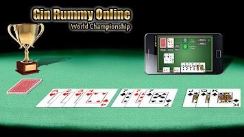 Screenshot of Gin Rummy Online FREE