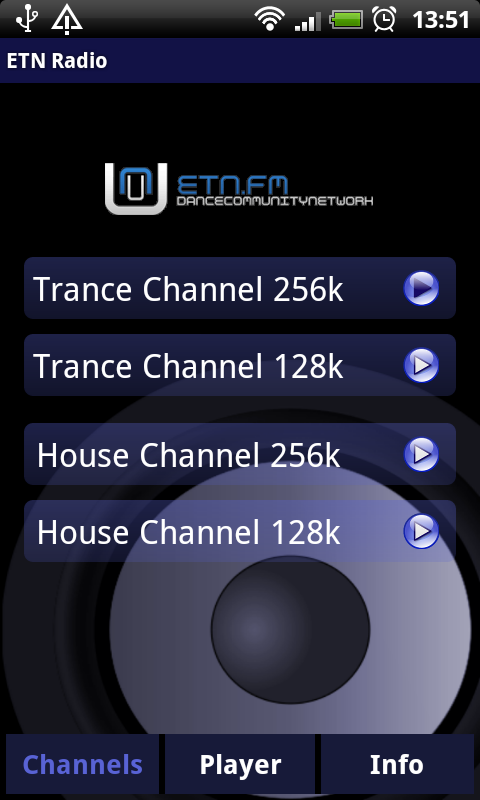 ETN Radio Player- screenshot