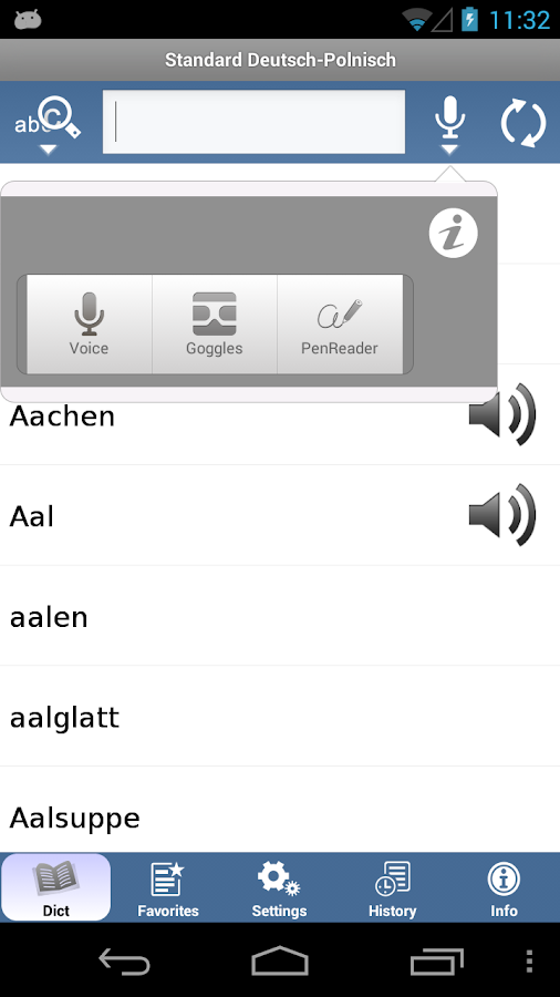 Standard Polnisch - screenshot