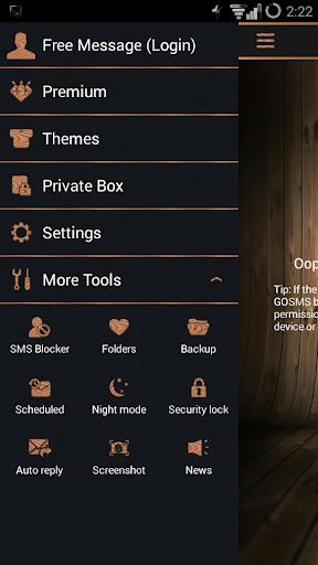 Wood SMS Pro Theme