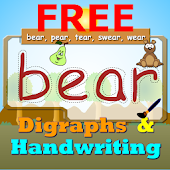 Digraphs Writing Spelling Free