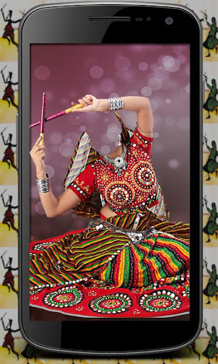 Chaniya Choli Suit Photo Maker
