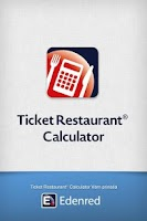 Screenshot of Ticket Restaurant® Calculator