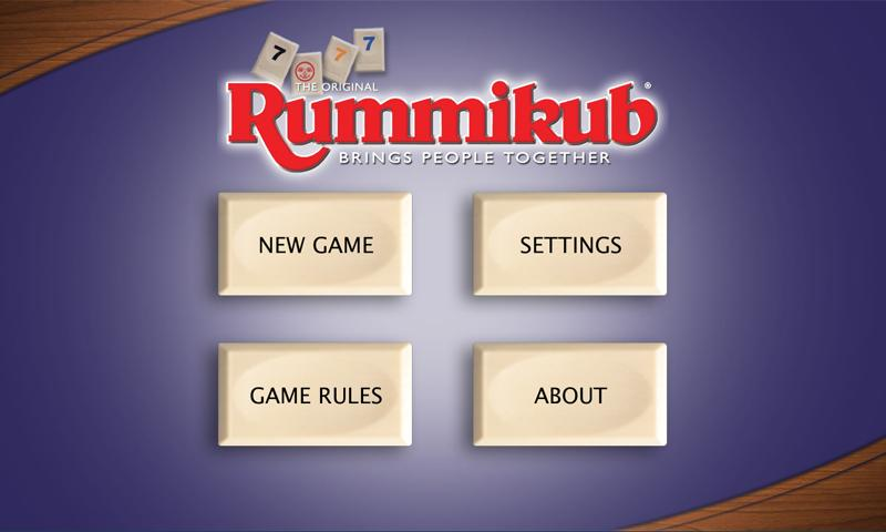 Rummikub - screenshot