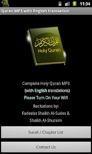 Quran MP3 With English v2.1.7