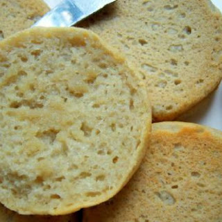 Gluten-Free Buckwheat and Honey English Muffin