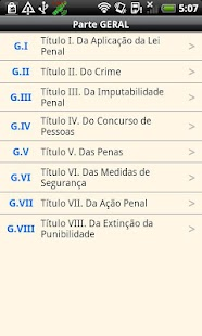 Brazilian Penal Code- screenshot thumbnail